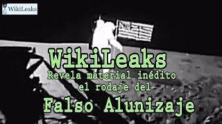 Wikileaks expone video revelador del fraude sobre el viaje a la luna ANALISIS