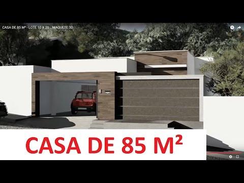 Natan fontes casa 70m doovi for Casa moderna minimalista 6 00 m x 12 50 m 220 m2