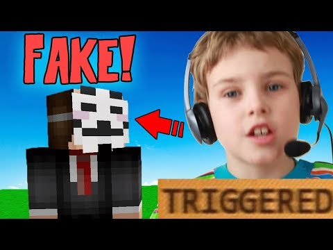 VOICE CHANGER! MAKING NOOB THINK IM SUPER HACKER! (Minecraft Trolling)