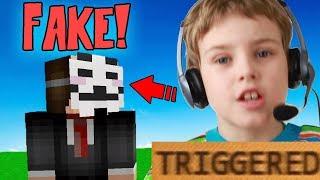 VOICE CHANGER! MAKING NOOB THINK IM SUPER HACKER! (Minecraft Trolling)