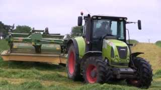 Claas Tractors at work