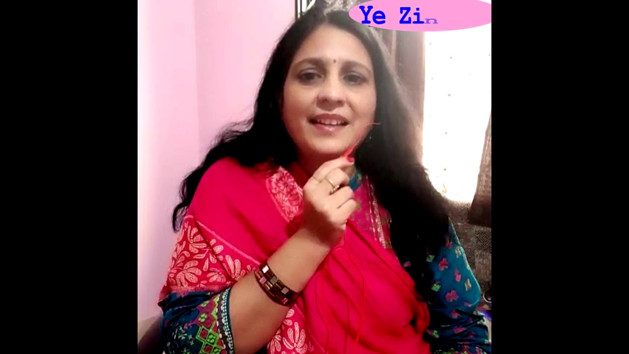 Yeh Zindagi Usi ki hai Cover by Sonal Diwanji - YouTube