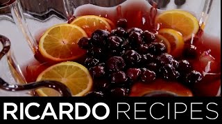 Making Morello Cherry Holiday Punch | Ricardo Recipes