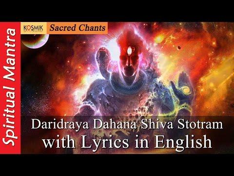 Daridraya Dahana Shiva Stotram - Daridraya...