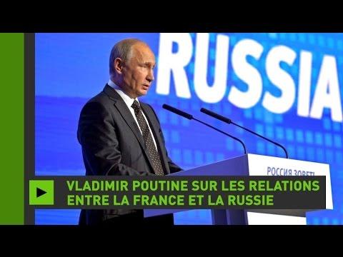Vladimir Poutine explique ce qui s'est réellement passé entre la France et la Russie