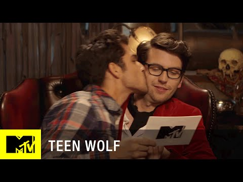 Teen Wolf (Season 5)   Tyler Posey Crashes Dylan Sprayberry's Interview   MTV