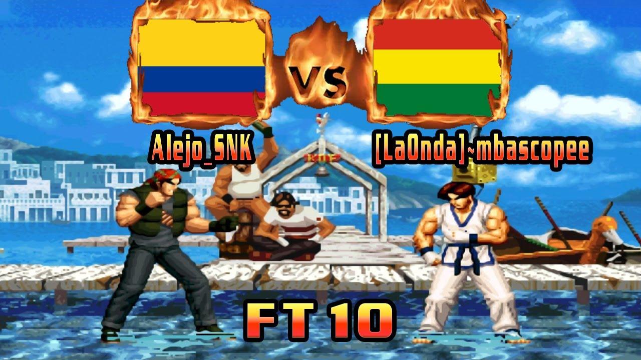 King of Fighters 95 - Alejo_SNK (COL) VS (BOL) [LaOnda]~mbascopee [kof95] [Fightcade] [FT10]