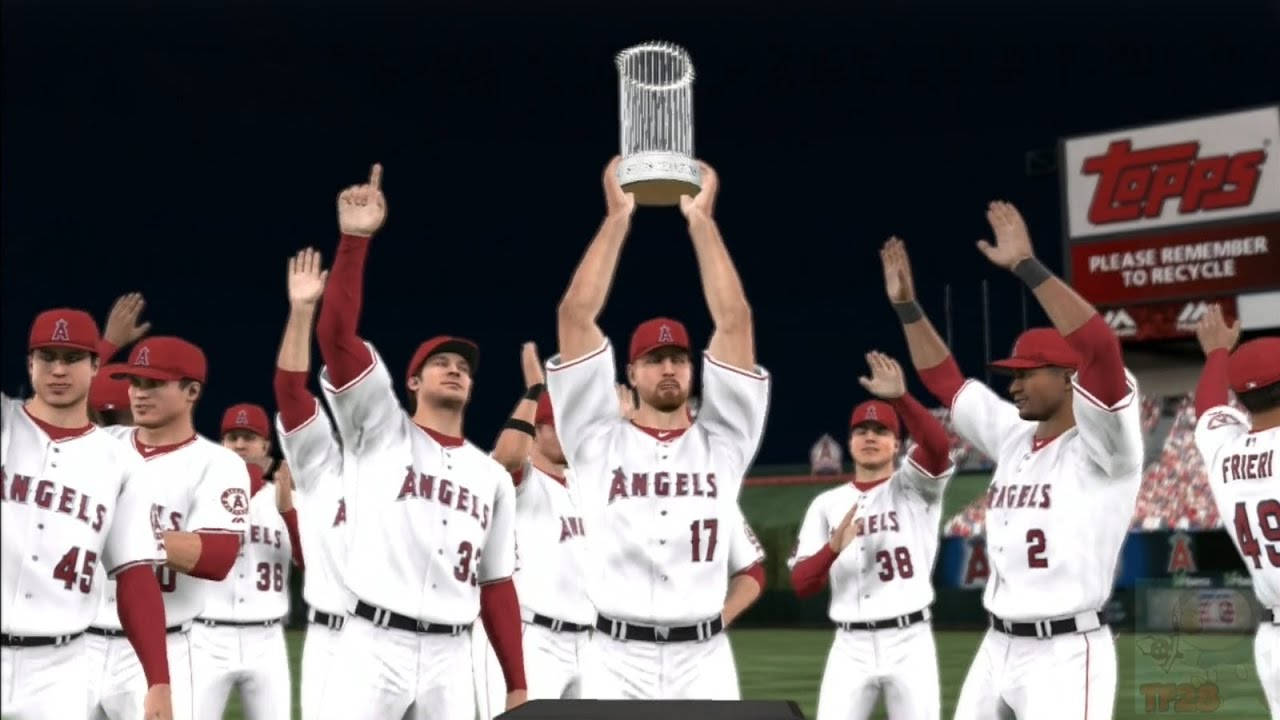 MLB 14: The Show - Los Angeles Angels of Anaheim World ...