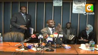 NHIF Board Members Quarrel in Public