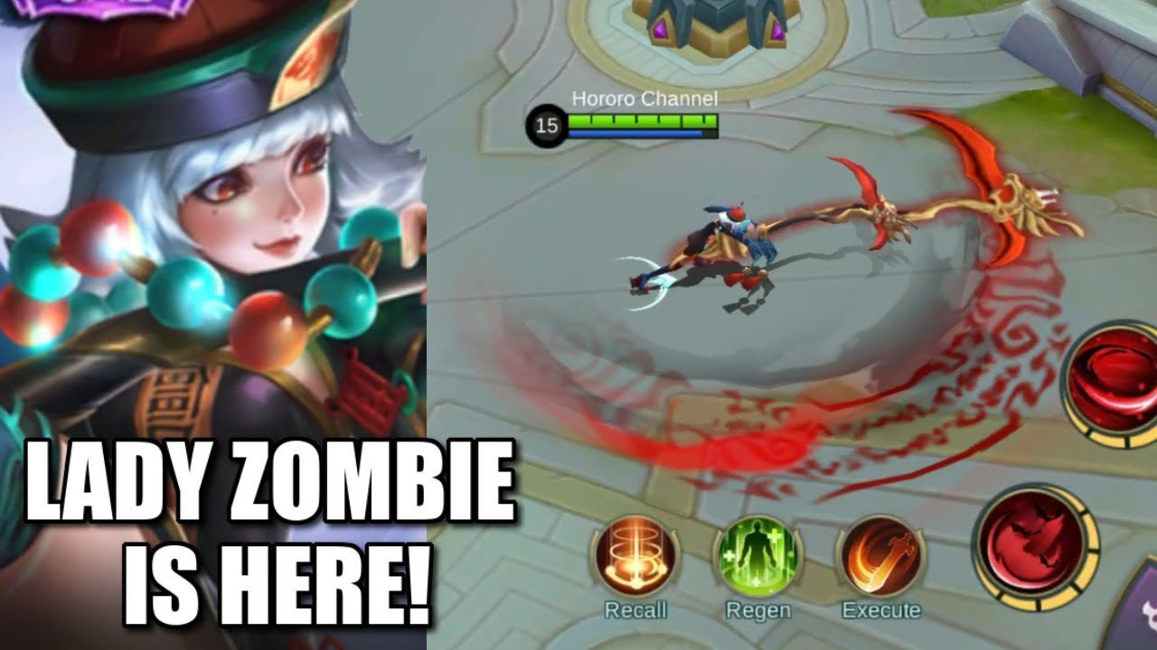 Lady Zombie Ruby New Skin Is Defenitely Worth It Youtube