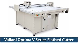 Valiani Optima V Series Flatbed Cutter