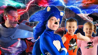 Sonic The Hedgehog Ninja Kidz Part 4!