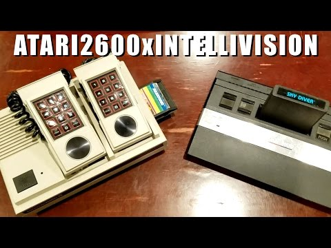 ATARI 2600 vs INTELLIVISION competitive review by Classic Game Room