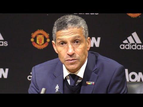 Manchester United 1-0 Brighton - Chris Hughton Post Match Press Conference - Premier League #MUNBRI