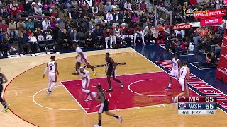 3rd Quarter, One Box Video: Washington Wizards vs. Miami Heat thumbnail