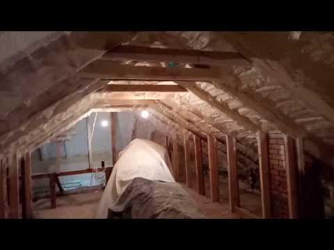 Как нас обманывают! Утепление крыши ппу 35 плотности.