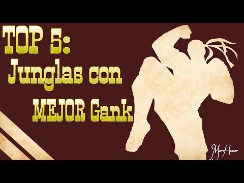 TOP 5: JUNGLAS con MEJOR GANK