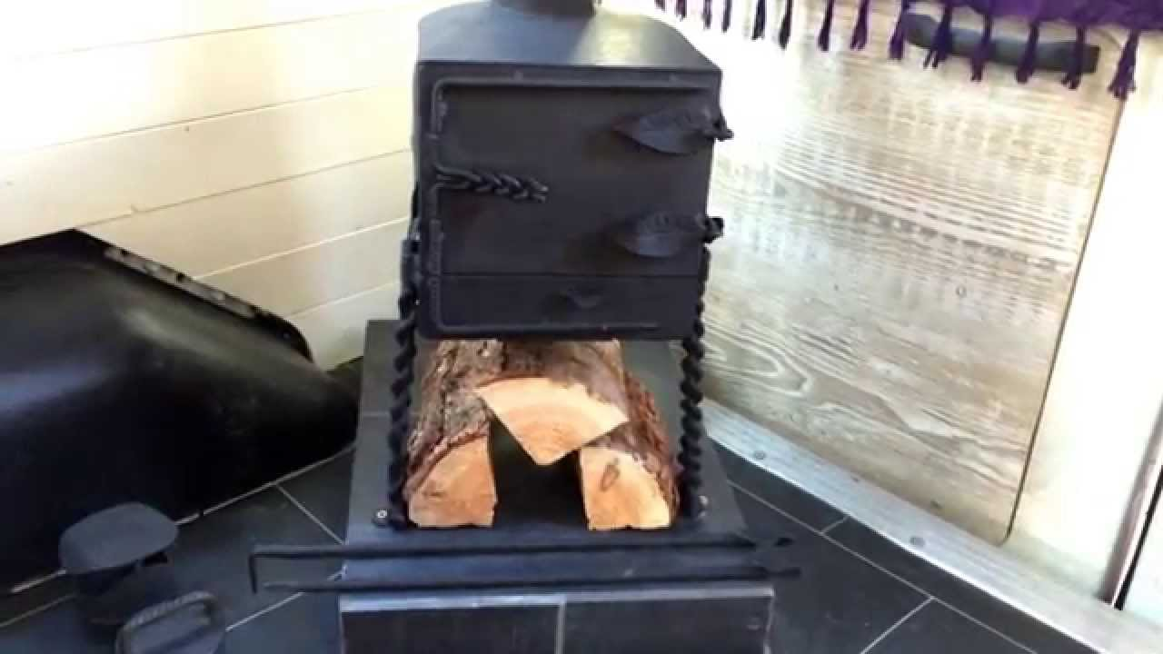 Camper Van Log Burning Stove Installed EXCITING