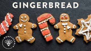 Homemade Gingerbread Cookies Recipe - Honeysucklecatering