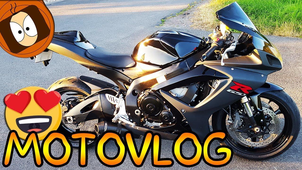 Nouvelle Moto Suzuki Gsx R Sportive Motovlog Youtube