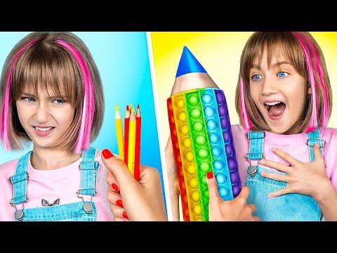Pop It College! How to Sneak Viral TikTok Fidget Toys into College!