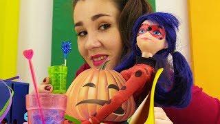 Мультик Леди Баг: Маринетт устраивает вечеринку Хэллоуин