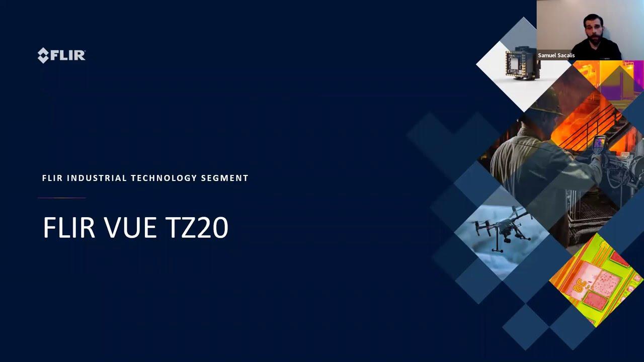 Uusi FLIR TZ20 kaksoislämpökamera 640x512