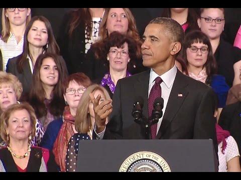 President Obama Speaks on Women and the Economy