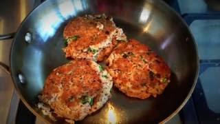 Spicy Fish Burger Recipe with Tuna