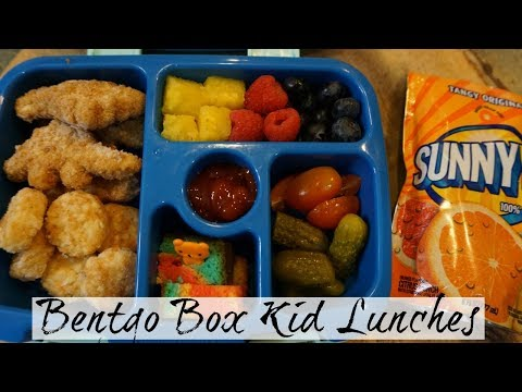 BENTGO BOX LUNCHES  - Week 11/13 - 11/16