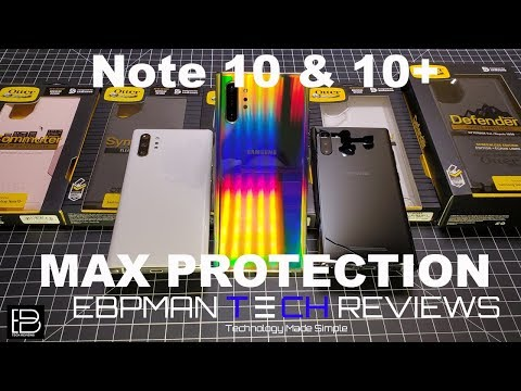 Samsung Galaxy Note 10 Plus Cases from Otterbox | Fit & Wireless Charging Test