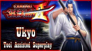 【TAS】SAMURAI SHODOWN 2 (SHIN SAMURAI SPIRITS HAOHMARU JIGOKUHEN) - TACHIBANA UKYO