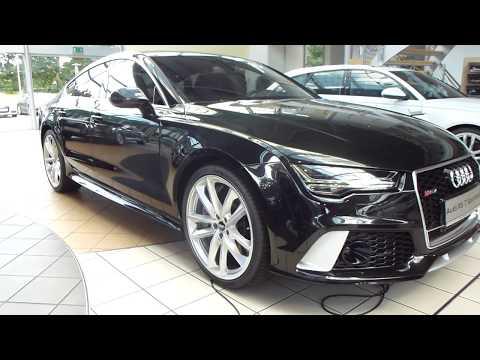 2017 Audi RS7 Sportback Exterior & Interior 4.0 V8 Bi-Turbo 605 Hp 305 Km/h 189 mph * Playlist