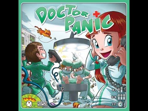 Unboxing Doctor Panic por El club del dado