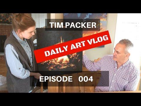 Tim Packer Daily Art Vlog - Episode 004