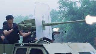Băng Đảng Giang Hồ Mang Xe Bọc Thép Tấn Công Đội Đặc Nhiệm | Phim Hành Động Võ Thuật