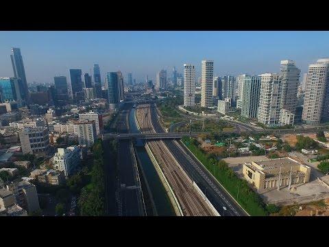 Tel Aviv bird eye view