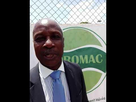 Lancement de la campagne Hévéa 2018:le SG de l'APROMAC ,M. Attoban Akpagni parle…