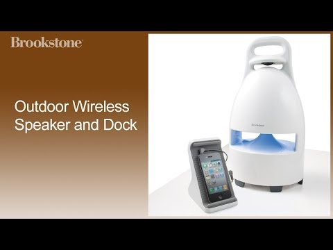Outdoor Wireless Speaker and Dock Complete How to Video