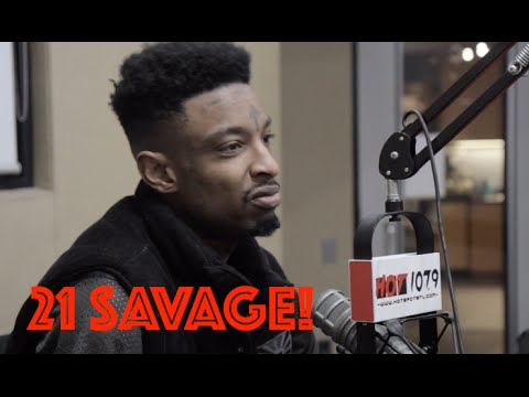 "21 Savage Talks ""Slaughter King"", Working With Sonny Digital,  Metro Boomin, And More"