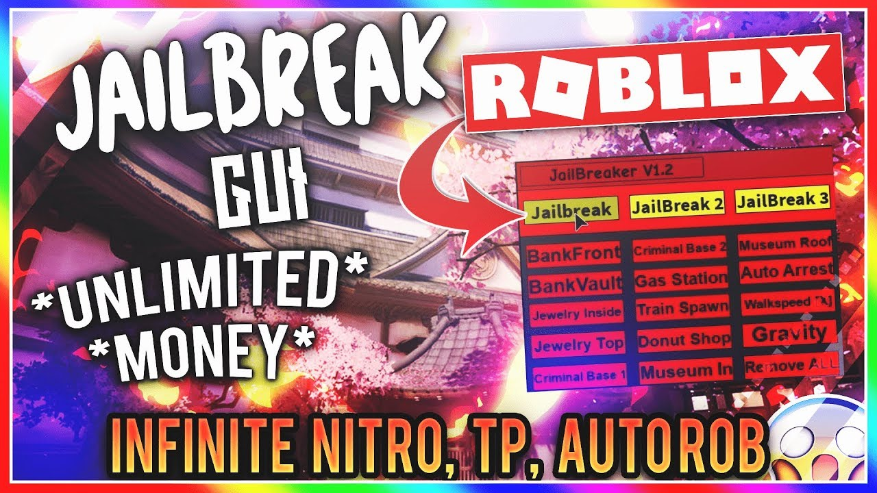 Roblox Jailbreak Gui 2019 Jailbreak Script Gui Teleport Kill And More By Scratchy