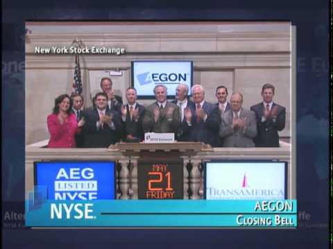 21 May 2010 AEGON rings the NYSE Closing Bell