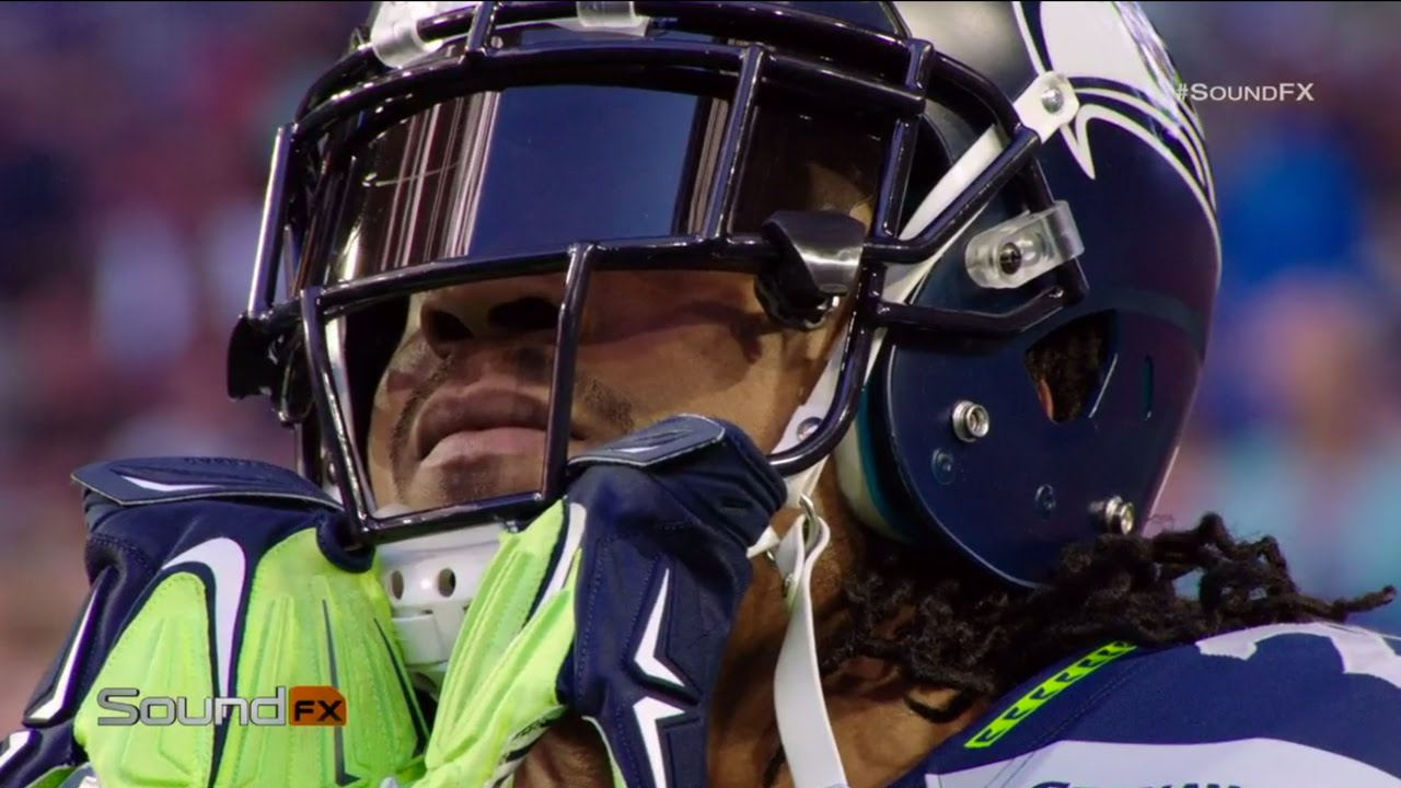 best cheap 0da5e 123bd Marshawn Lynch at Super Bowl XLIX | Best of Sound FX | NFL