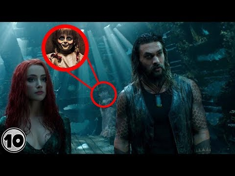 Top 10 Easter Eggs You Missed In Aquaman