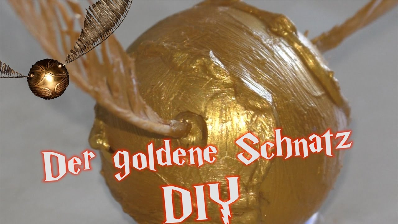 Harry Potter Diy Der Goldenen Schnatz Hd Youtube