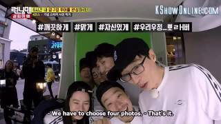 Funny Running Man Members Taking Photo Booth Together