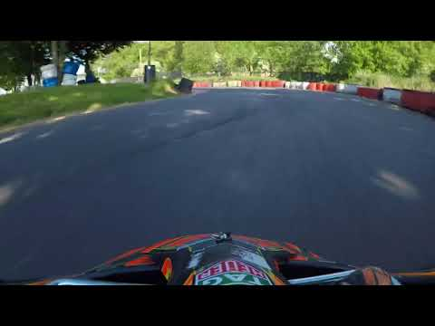 Stretton karting JTKM Onboard GoPro with the master of stretton!