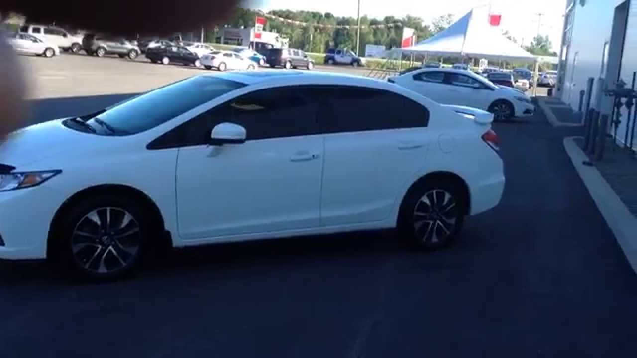 2014 honda civic one owner ex spoiler tinted windows   youtube