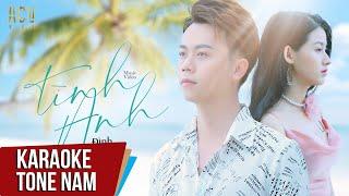 Download Karaoke   Tình Anh - Đình Dũng   Beat Tone Nam
