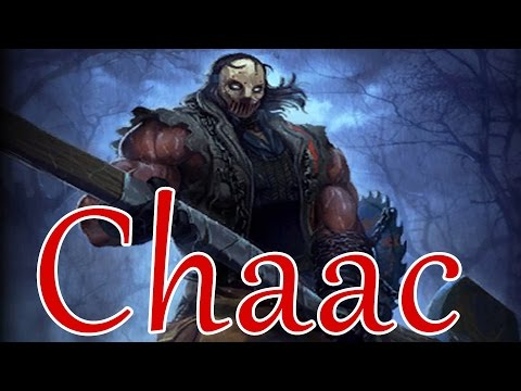SMITE Chaac solo ~ Season 4 PTS testing! Sunder! Chaac carry! Shield of regrowth(PBUI)